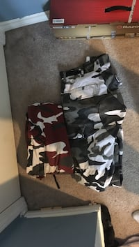 2 pairs of Rothco camo pants