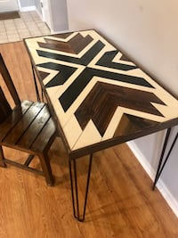 Handcrafted Geometric Desk New Orleans