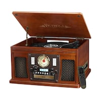 Victrola Nostalgic 8-in-1 Bluetooth Turntable Entertainment Cent Toronto