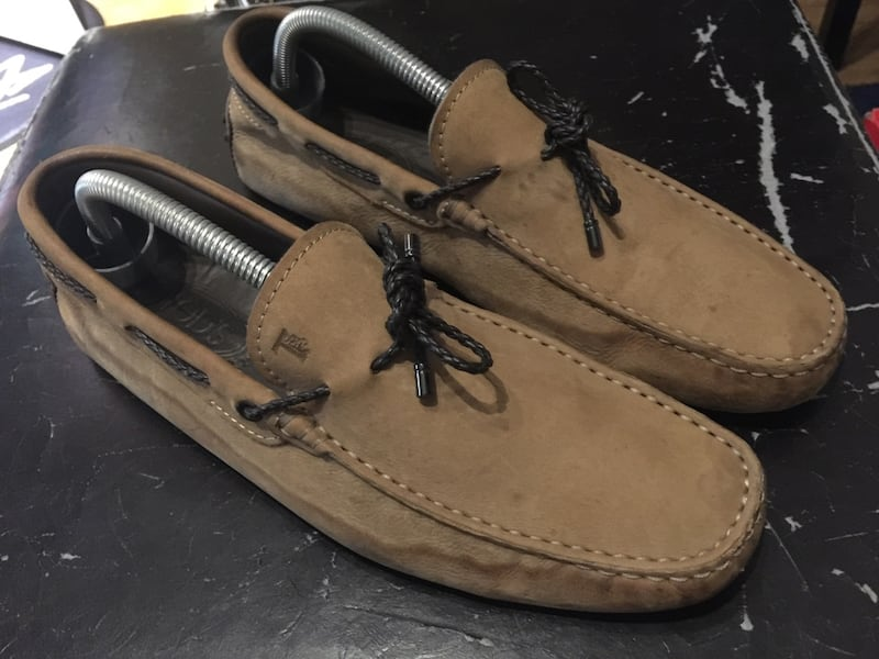 Tods gommino suede driving loafers  b1210a59-43b7-43d3-9eed-e4841307510d