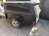 Trailer with camper Shafter, 93263
