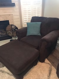 Sofa and Chair with Ottoman Gainesville, 20155
