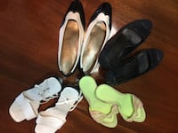 Four pairs of shoes, $8 ea or ALL for $20 Langley, V3A 2E8