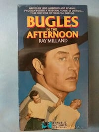 Bugles in the Afternoon vhs