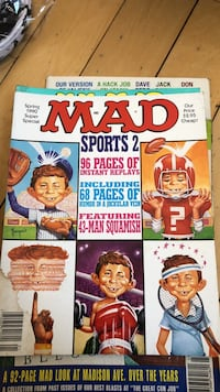 10 MAD magazines all in good cond
