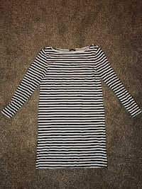 black and white striped long-sleeved shirt Provo, 84604