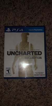 Uncharted complete series Pa4 video game 14 km