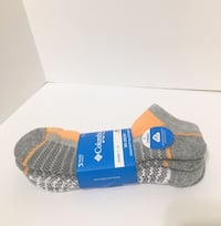 Columbia 3pairs sport socks Langley, V3A 0E6