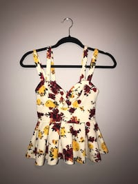 Floral crop top  Lithia, 33547