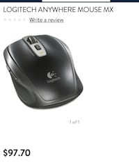 Logitech wireless mouse sells in store for $97.00 Anaheim, 92802
