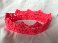 Handmade crochet crown headband  Singapore