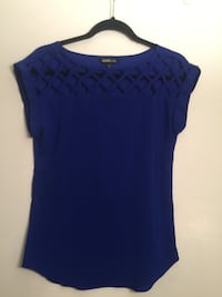 Express blue shirt (XS) Palo Alto, 94306