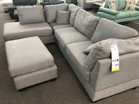 New Couch Sectional. Grey. Free Delivery ! Los Angeles, 90020