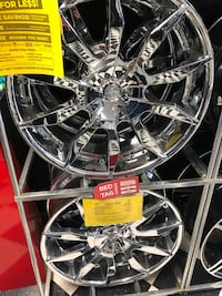 """24"""" VCT chrome wheels on special. Payments or cash   San Diego, 92115"""