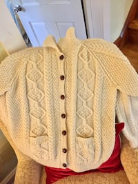 NEW - Women's Handmade Cable Knit Cardigan