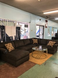 Brand New 3pc Big U Shaped Sectional Name Brand $1395, No Credit Needed Finance North Highlands, 95660