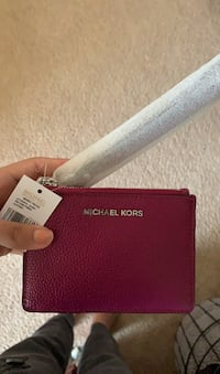 Michael Kors Leather Coin Purse