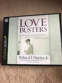 Audio book cd- love busters Columbia, 21046