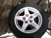 4 Aluminum Wheels With All Season Tires Oakville, L6M 4A6