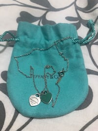 Authentic Return to Tiffany Mini double heart tag pendant  Mississauga, L5C 3T5