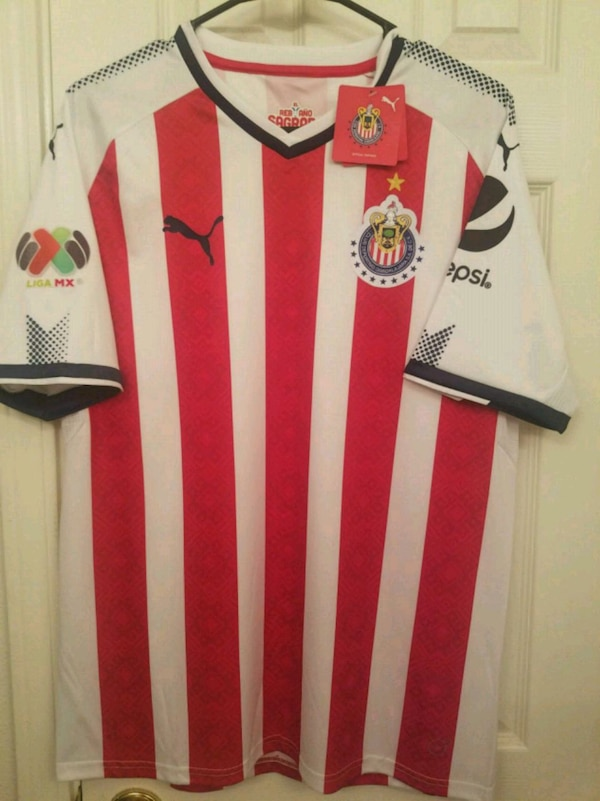 low priced 97d58 f1513 2018 chivas soccer jersey puma BRAND NEW
