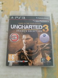 Uncharted 3 PS3 oyun cd'si