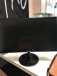 Black Samsung 24 Inch Curved monitor  Las Vegas, 89120
