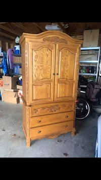 brown wooden cabinet with drawer Fort Belvoir, 22309