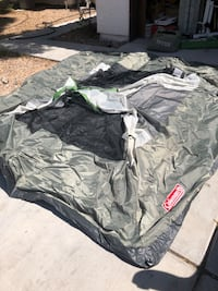 Coleman 6 person tent with queen size air mattress!! North Las Vegas, 89032