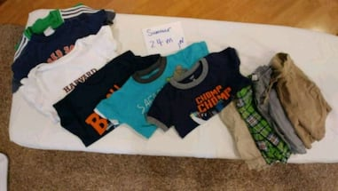 Boys summer clothes 24 months