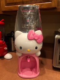 """NEW!!! Hello Kitty Pink White Mini Water Beverage Dispenser Drink Fountain 19"""" SEE ALL ITEMS WE HAVE.  Kissimmee, 34741"""