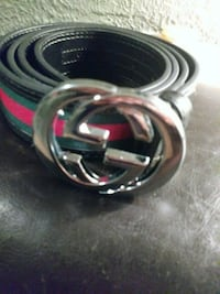 black and red Gucci belt St. Louis, 63111