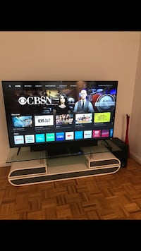 """65"""" TV, WARRANTY, TV STAND, AND SURROUND SYSTEM SOUND BAR New York, 10065"""