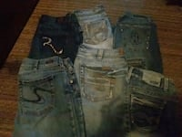 Jeans all name brand Lincoln, 68502