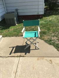 teal and white director's chair Eastpointe, 48021