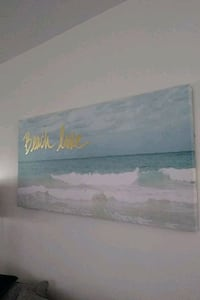 Beach themed wall art