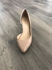 BCBG Nude Pointed Toe Mid-low Heel - Size 9 Laval, H7T