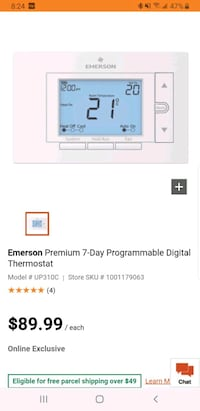 Emerson Thermostat Toronto, M3B