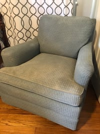 Light Blue Armchair