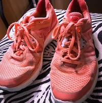 pair of red Nike running shoes Mullica Hill, 08062