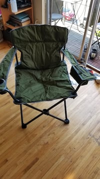 Camping chair from Uline. Like new Vancouver, V6H 1J3