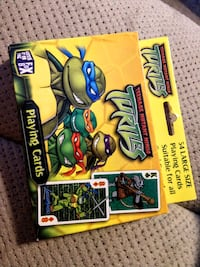 New 2003 Mutant Ninja Turtle playing card MNT TMNT Manchester, 03103
