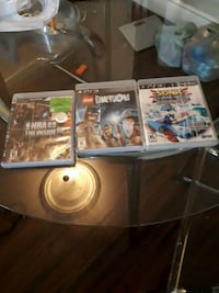 four assorted PS3 game cases Toronto, M9W 7B4