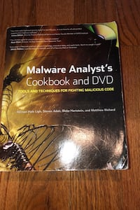 Malware Analyst's Cookbook and DVD Lorton, 22079