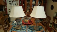 two white and brown table lamps Henderson, 89015