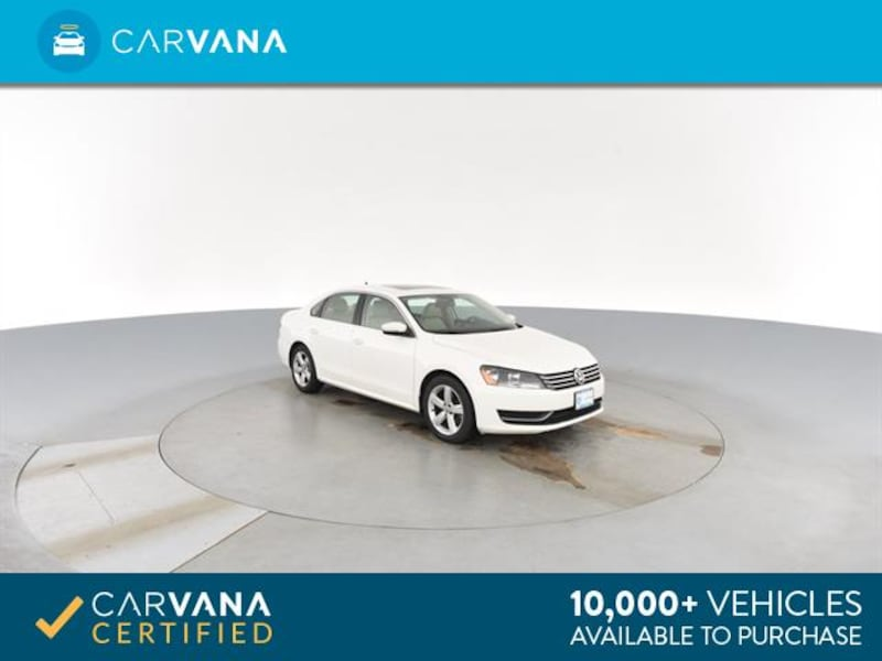 2013 VW Volkswagen Passat sedan 2.5L SE Sedan 4D White <br /> 8
