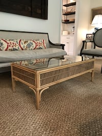 Rattan coffee table  Washington, 20016