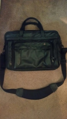 Victorinox by Swiss Army Leather Laptop Bag