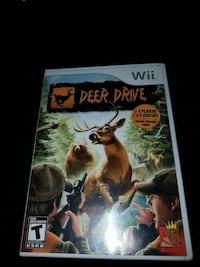 Deer  drive video game  for nintendo wii