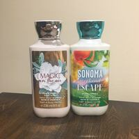 Bath and Body Works Lotion - Set of 2 Vancouver, V5R 6H7